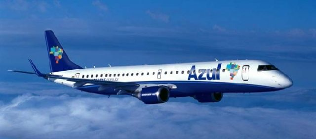 Azul Linhas Aéreas volta a operacionalizar voo Mossoró (PE)