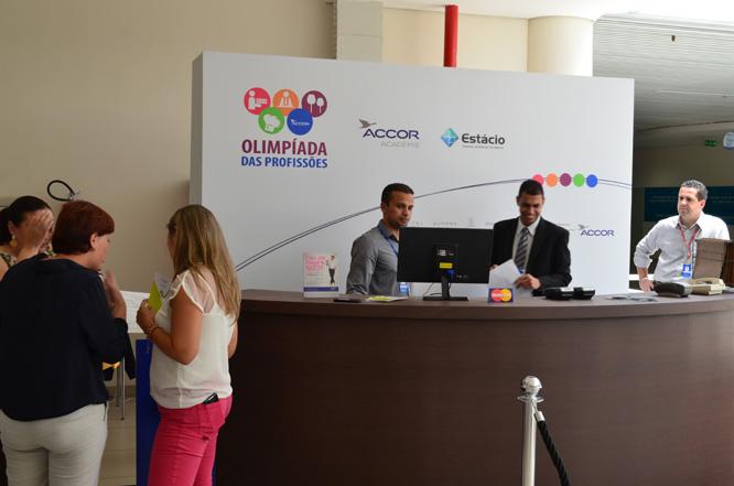 Accor promove Olimpíada das Profissões com colaboradores