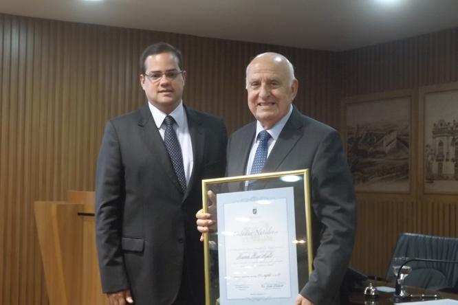 Ramon Bagó, Presidente do grupo Serhs, recebeu título de cidadão Natalense