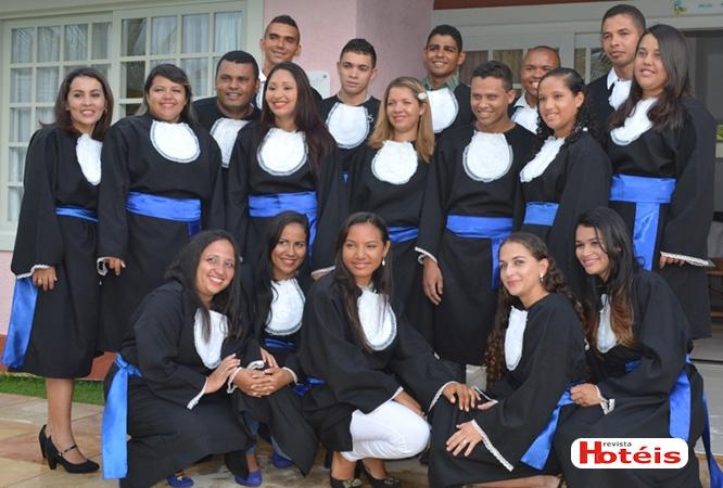 Mussulo Resort realiza formatura de turma do seu Centro de Formação