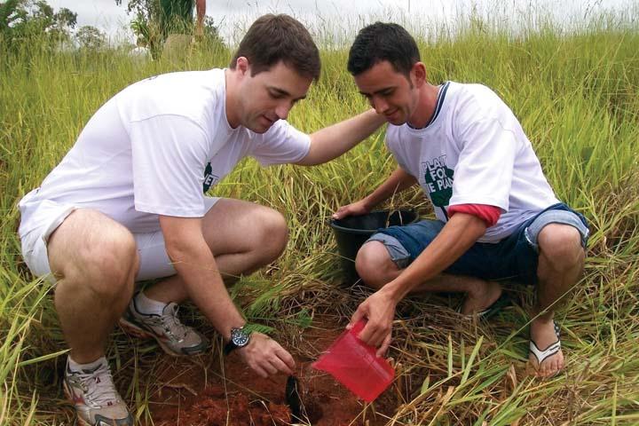 Accor Hotels  promoveu plantio de árvore nas nascentes do Rio São Francisco