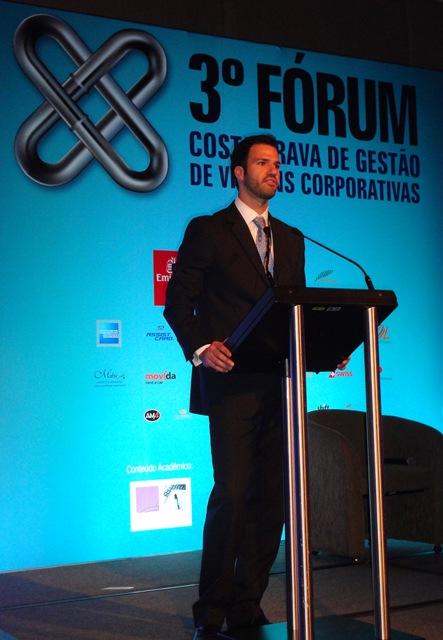 Palestra sobre gestão de viagens corporativas abre 3º Fórum Costa Brava