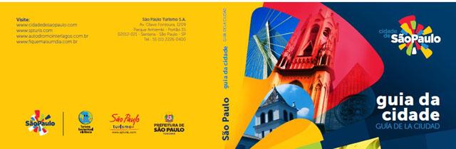 SP Turis distribui guia turístico da capital paulista na WTM
