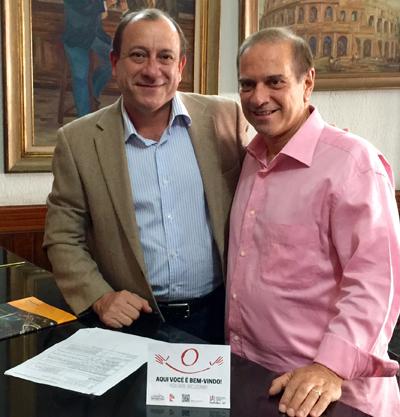 SinHoRes-SP firma parceria com São Paulo Convention Bureau