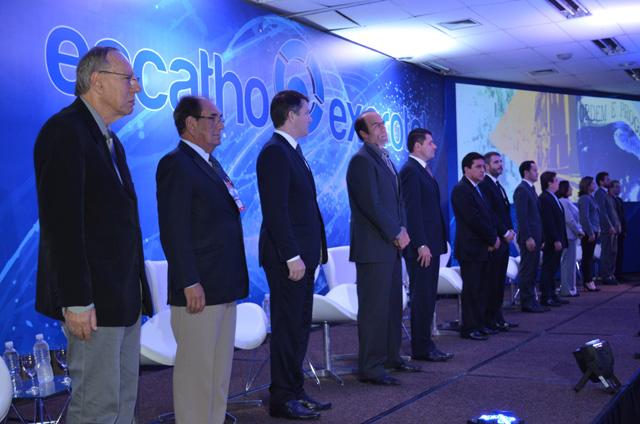 ENCATHO: Abertura reuniu trade hoteleiro em Florianópolis (SC)
