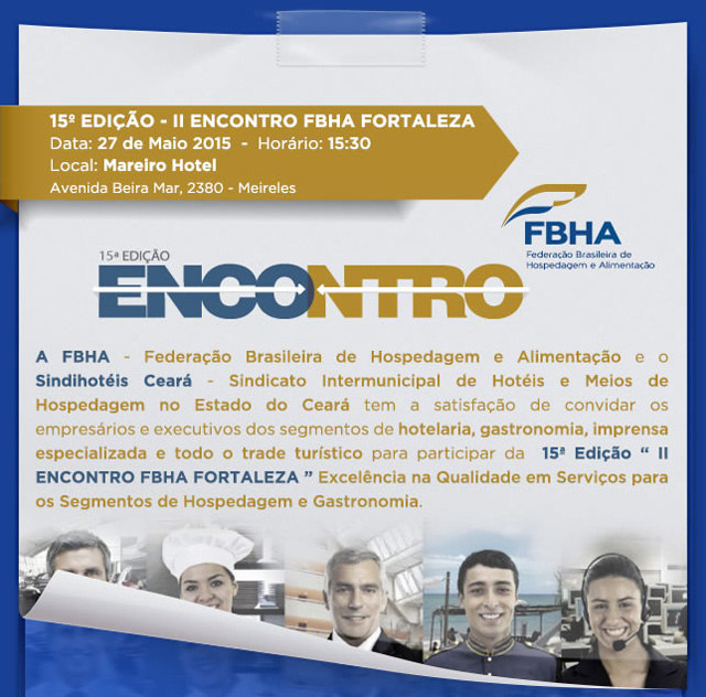 Fortaleza (CE) recebe segunda edição do Encontro de Excelência da FBHA