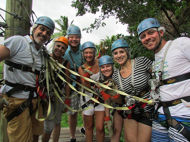 Santa Lucia recepciona Fam Trip de brasileiros