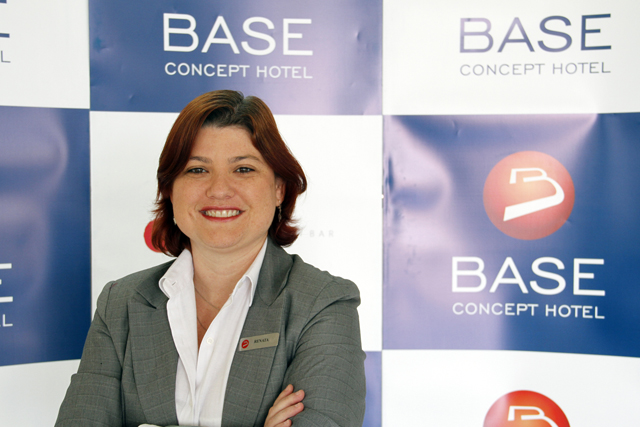 Base Concept Hotel (DF) apresenta nova gerente de Vendas