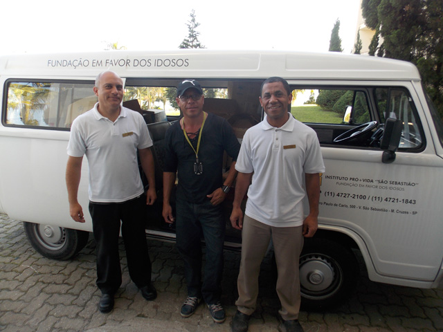 Paradise Resort (SP) doa mais de mil peças de roupa e enxoval a asilo