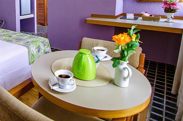 Chá relaxante é novidade no Stream Palace Hotel
