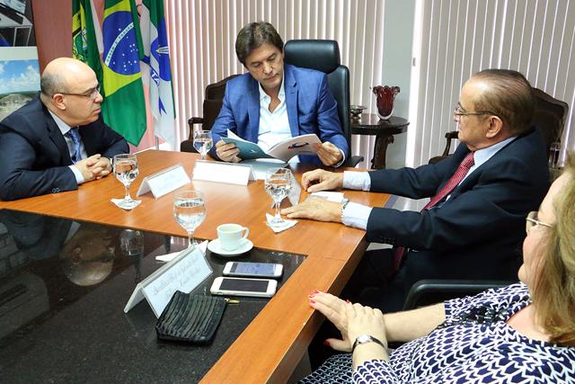 Governador do RN recebe grupo SERHS e mostra investimentos para o turismo