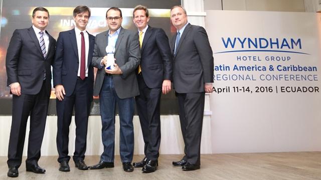 """Nobile Hotéis recebe prêmio """"Inovação do Ano"""" do Wyndham Hotel Group"""