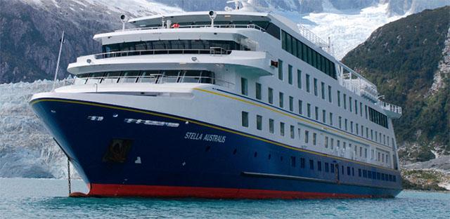 Australis incorpora novo navio cruzeiro a frota no próximo ano e mantém tarifas