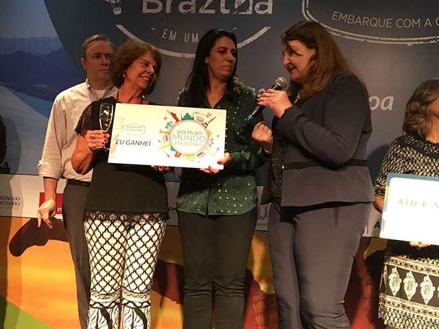 Braztoa premia agentes de viagens