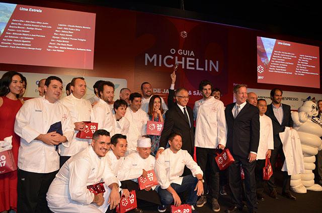 Hotel Unique recebeu lançamento do Guia Michelin 2017  Rio de Janeiro & São Paulo