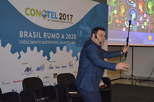 Conotel 2017: Palestra aponta características da empresa do Futuro
