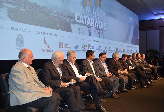 Concorrida cerimônia abriu a 12ª edição do Festival das Cataratas