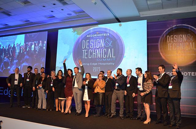 Prêmio AccorHotels Design & Technical Summit 2017 é entregue