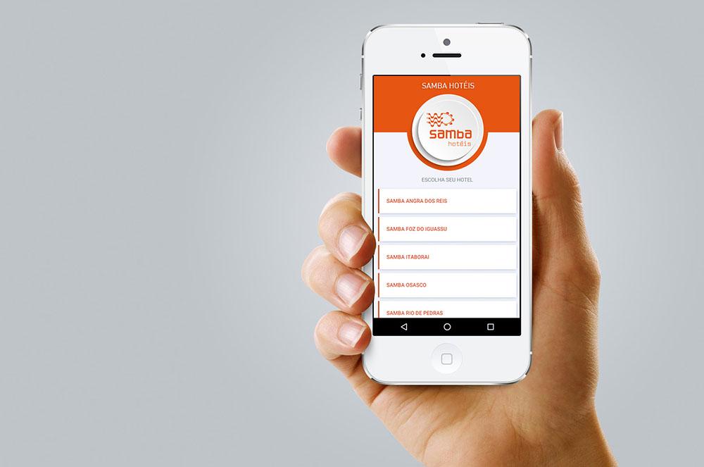 Samba Hotéis lança aplicativo para smartphones