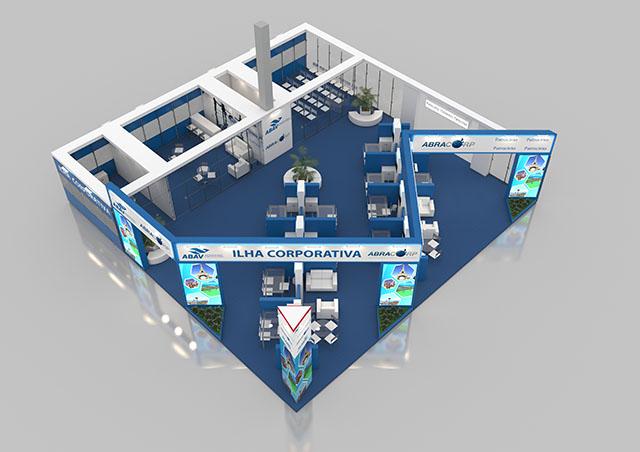 Abracorp divulga Ilha Corporativa que terá na ABAV Expo 2017