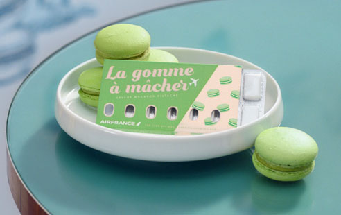 Air France apresenta goma de mascar para aliviar pressão