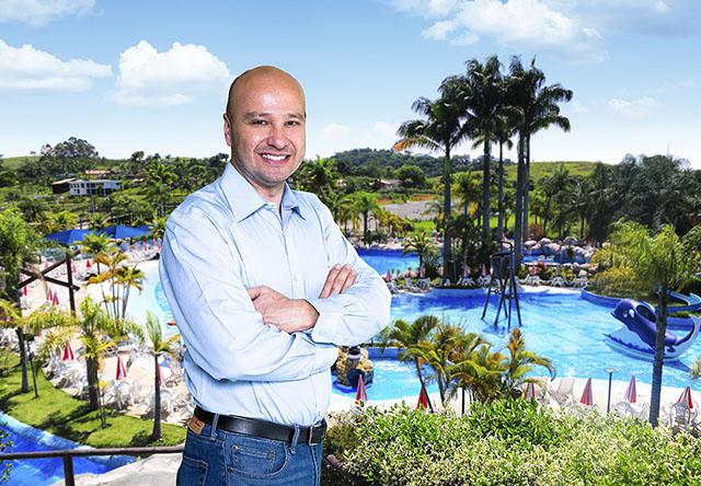Fernando Carrer é o novo diretor executivo Aldeia das Águas Park Resort