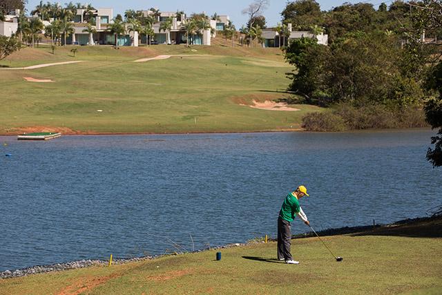 Malai Manso (MT) sedia dois campeonatos em seu campo de golfe