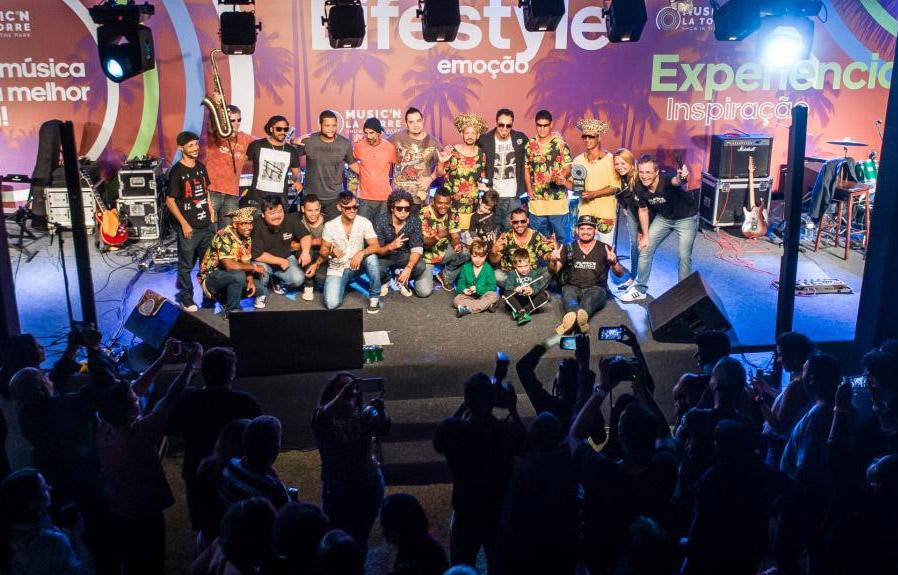 Music'n La Torre atrai mais de mil pessoas em Porto Seguro (BA)