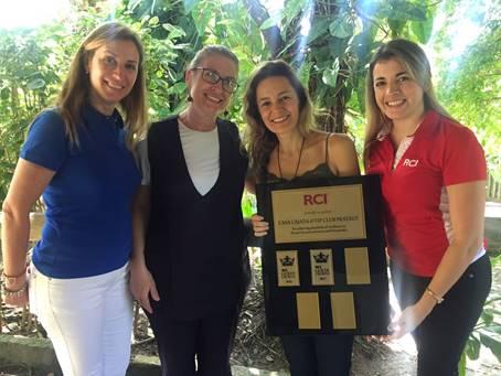 RCI premia CASA CAIADA @ VIP CLUB PRATAGY na categoria Gold Crown 2017