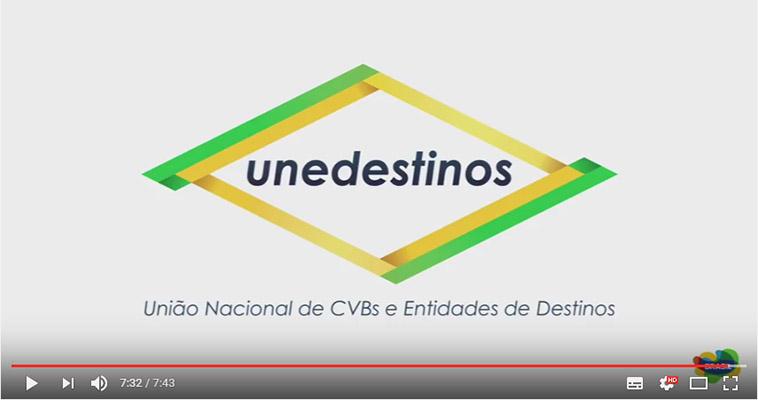 UNEDESTINOS divulga vídeo sobre impacto de CVBs