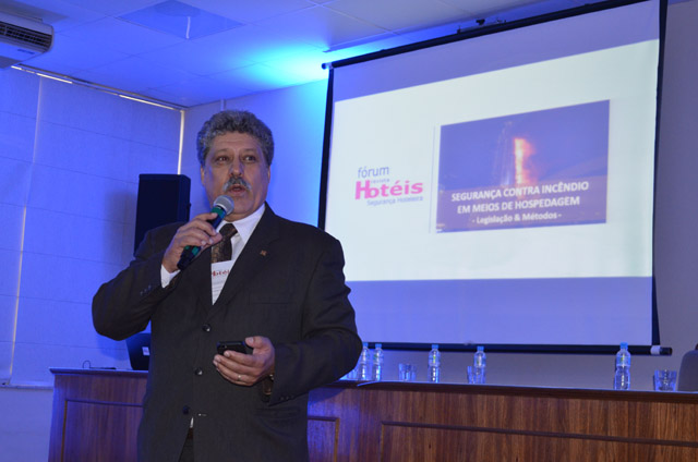 Segurança contra incêndios é tema de palestra no Fórum de Segurança Hoteleira