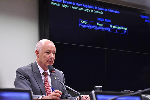 Herculano Passos preside Comissão Especial da Economia Colaborativa