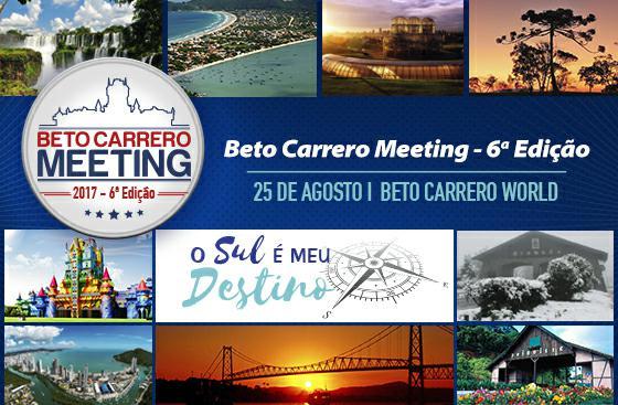 Campanha o Sul é Meu Destino será lançada no Beto Carrero World