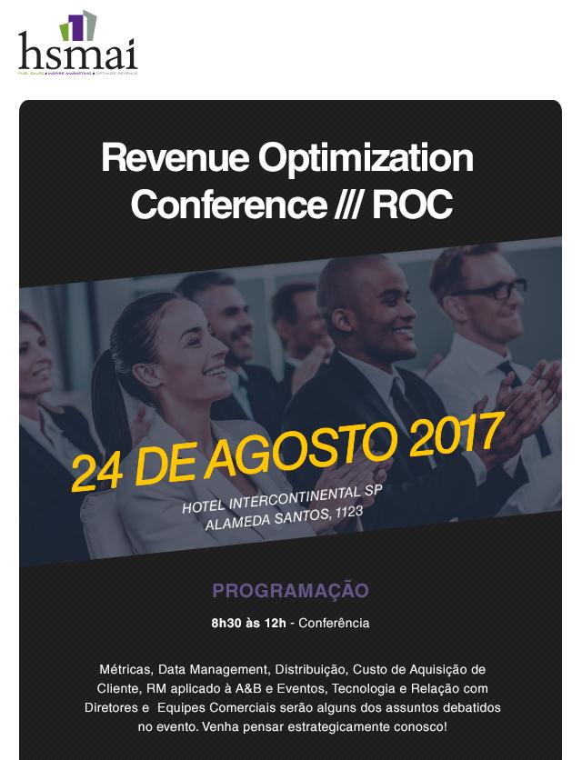 HSMAI Brasil realiza novo evento sobre RM este mês