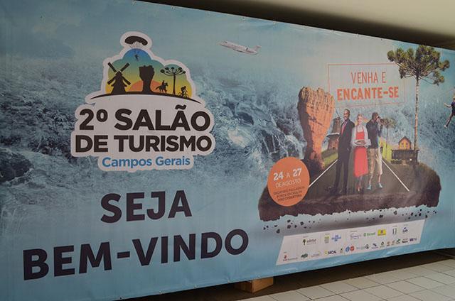 2º Salão de Turismo dos Campos Gerais tem início em Ponta Grossa (PR)