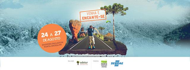 2º Salão de Turismo dos Campos Gerais tem início hoje em Ponta Grossa (PR)