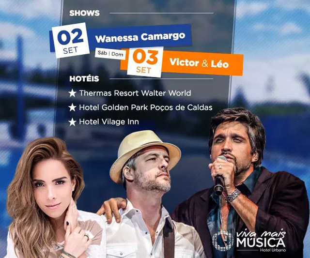 Nacional Inn Hotéis (MG) realiza 'Viva Mais Música Poços de Caldas'