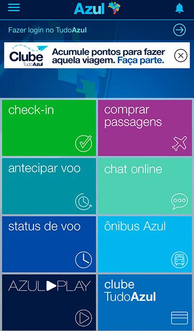 Azul lança chat em seu APP