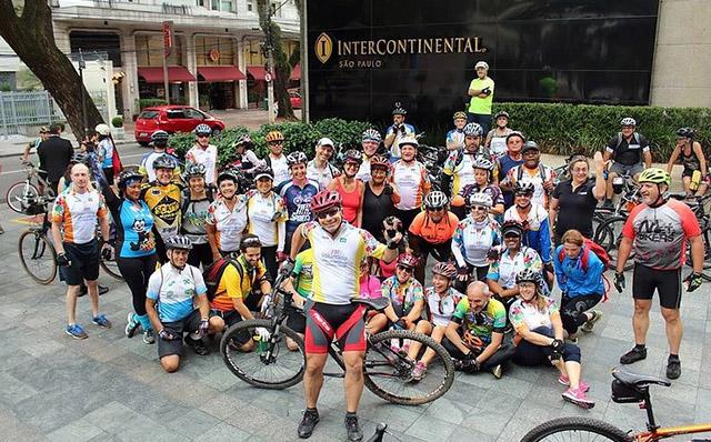 InterContinental SP e Pedal Voluntário promovem mais uma pedalada solidária