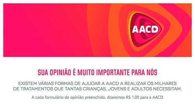 Pesquisa de satisfação do Bourbon Ibirapuera converte doações para a AACD