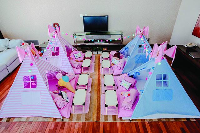 Festa do Pijama em hotel é a nova mania entre crianças e adolescentes