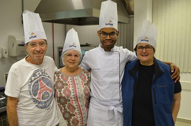 Desafio gastronômico envolve hóspedes e chefes no Desafio Senac