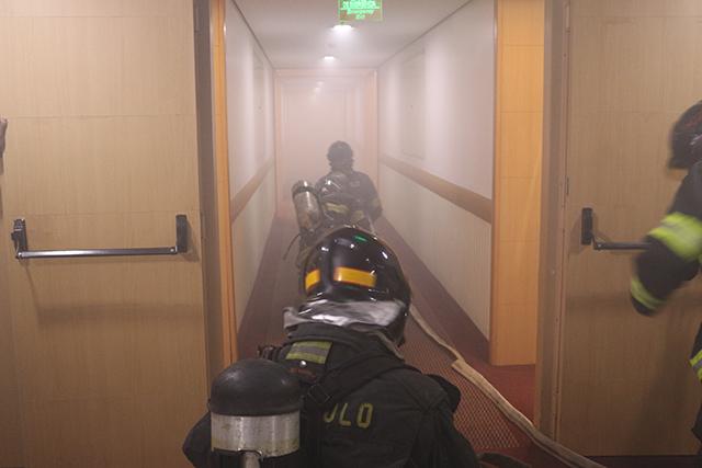 Holiday Inn Parque Anhembi faz treinamento de incêndio