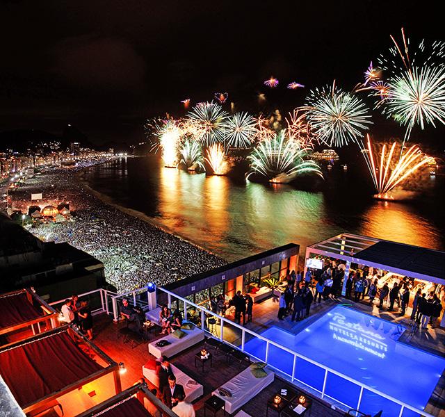 Pestana Rio Atlântica promoverá duas festas de Réveillon