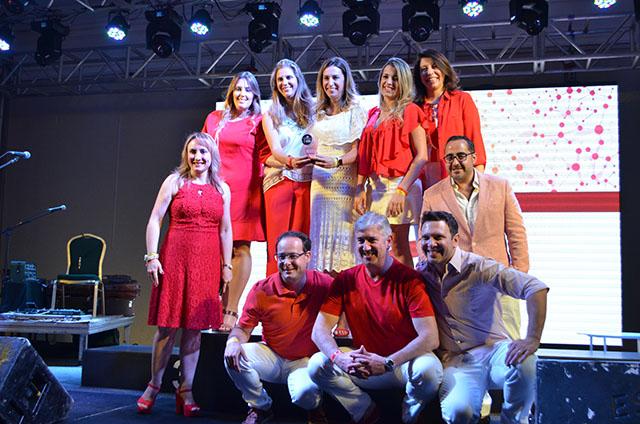Festa do vermelho e branco encerrou 5ª edição do Top Seller Events da RCI Brasil