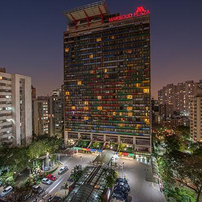 Hotel Maksoud Plaza já comemora a boa performance obtida neste ano