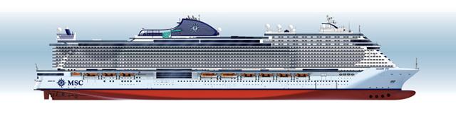 MSC Cruzeiros e Fincantieri anunciam acordo para a construção de dois navios