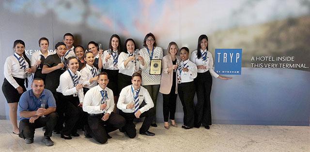 Tryp by Wyndham SP Guarulhos Airport conquista o Selo de Qualidade Nobile Hotéis