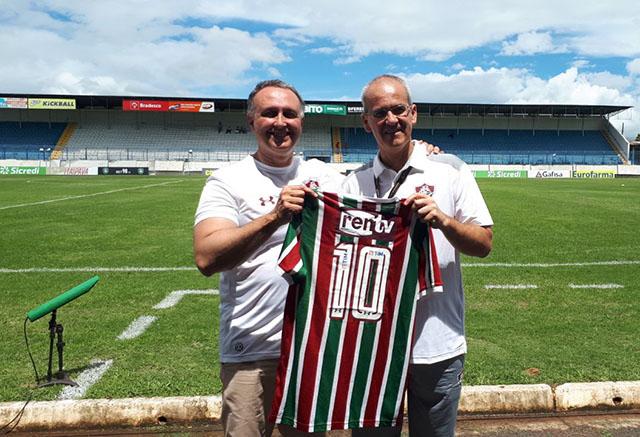 Rentv patrocina time Sub-20 de futebol do Fluminense