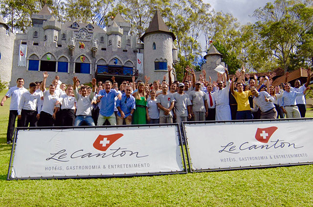Resort Le Canton comemora melhor ano de sua história